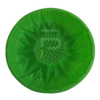 Szilikon sütőforma napraforgó zöld PH-12842