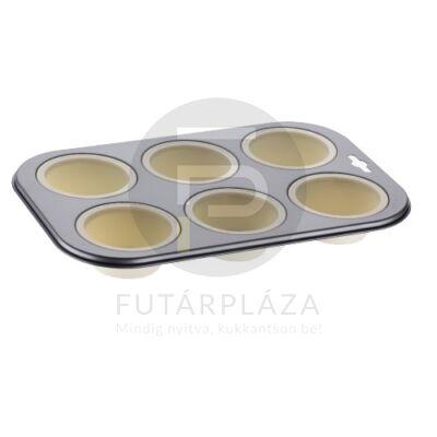 Szilikon muffin tepsi fehér PH-12851