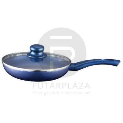 Serpenyő 28cm kék PH-15395-28