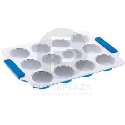 Muffin tepsi kék PH-15384