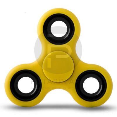 Fidget spinner - Stresszoldó pörgettyű - sárga