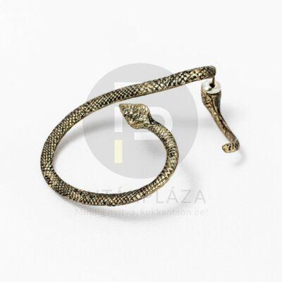 Antikolt fülcimpa fülbevaló kígyó alakú
