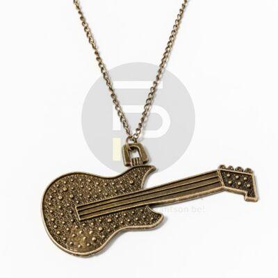 Antikolt gitár medálos nyaklánc