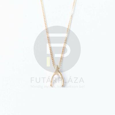 Arany bevonatos nyaklánc egyedi medállal