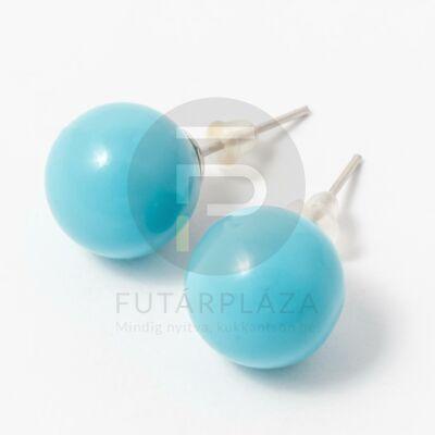 Beszúrós gömb fülbevaló több szín
