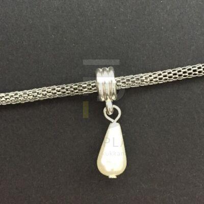 Függő csepp alakú charm