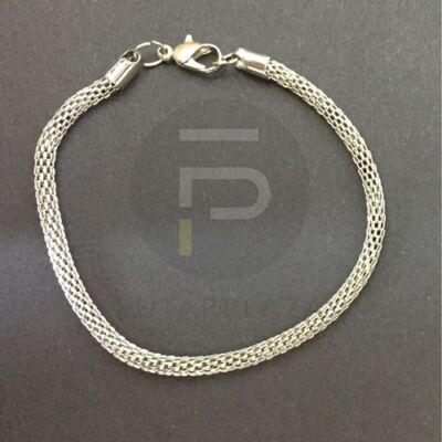 Charm karkötő - ezüst