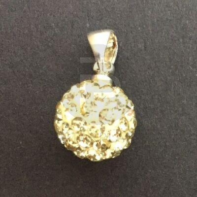 Shamballa medál - sárga