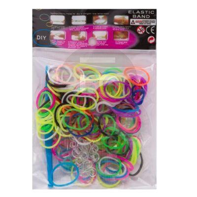 Loom Bands gumigyűrűk színes 56107D