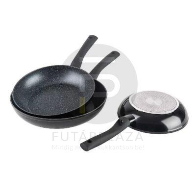 Mischler Cook serpenyő készlet 3 részes fekete MC-FA1003