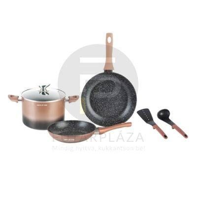 Mischler Cook edénykészlet 6 részes bronz-fekete MC-FA1006