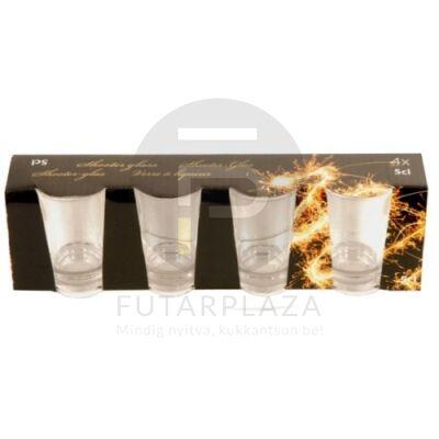 Snapsz pohár 4 db E11600