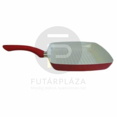 grillező serpenyő 24cm piros 10226