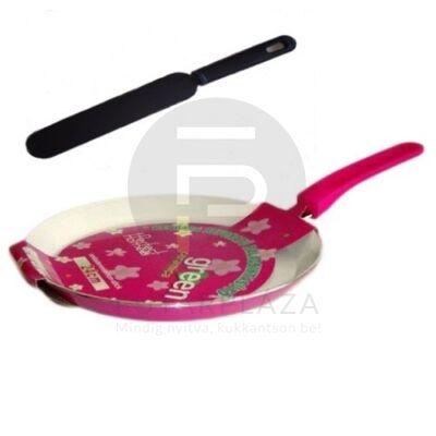 24cm palacsintasütő + ajándék pink 10245