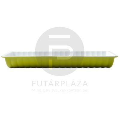 őzgerinc forma tepsi zöld 10360