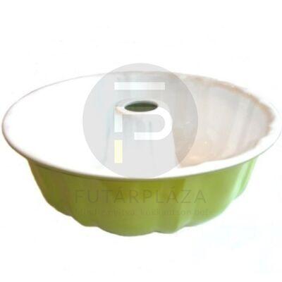 kuglóf forma zöld 10361