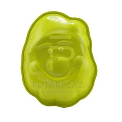 télapó sütőforma zöld 10368