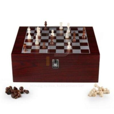 pikáns percek boros sakk készlet 11818