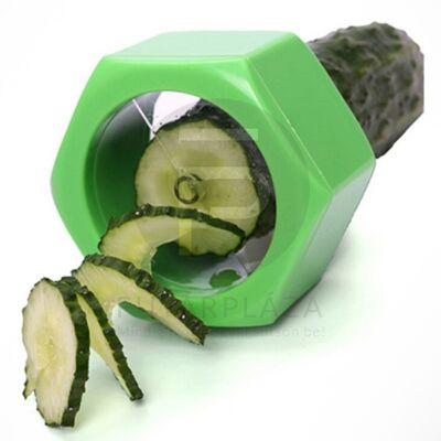 uborkaszeletelő zöld 12364