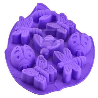 szilikon sütőforma lepke-katica 12383