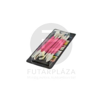 marcipán és fondant díszítő 8db pink 12454