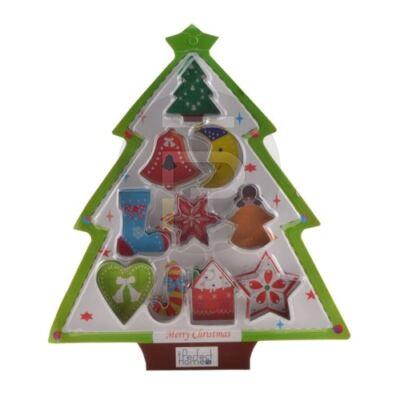 karácsonyi sütikiszúró készlet 10db 13297