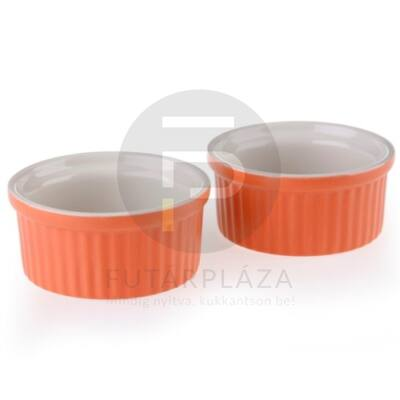 kerámia sütőforma 2db-os narancs 15808