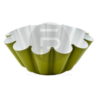 kuglóf forma zöld 28393