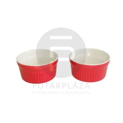 kerámia sütőforma 2db-os piros 15816
