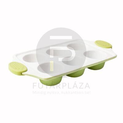 kerámia muffinsütő zöld 15804