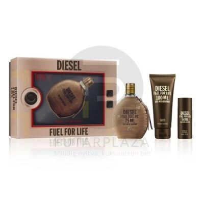 Diesel - Fuel for Life férfi 75ml parfüm szett  3.