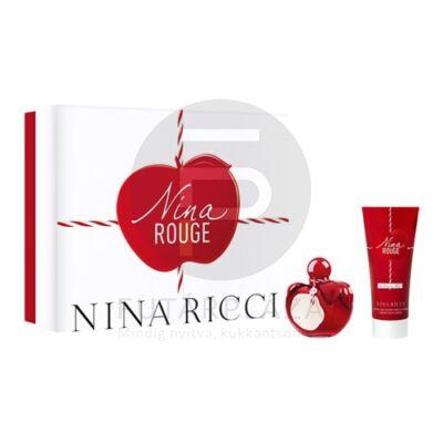 Nina Ricci - Nina Rouge női 50ml parfüm szett  1.
