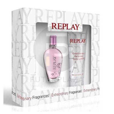Replay - Jeans Spirit! női 20ml parfüm szett  2.