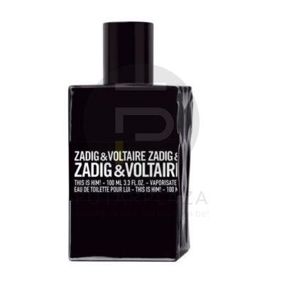 Zadig & Voltaire - This is Him! férfi 100ml edt teszter