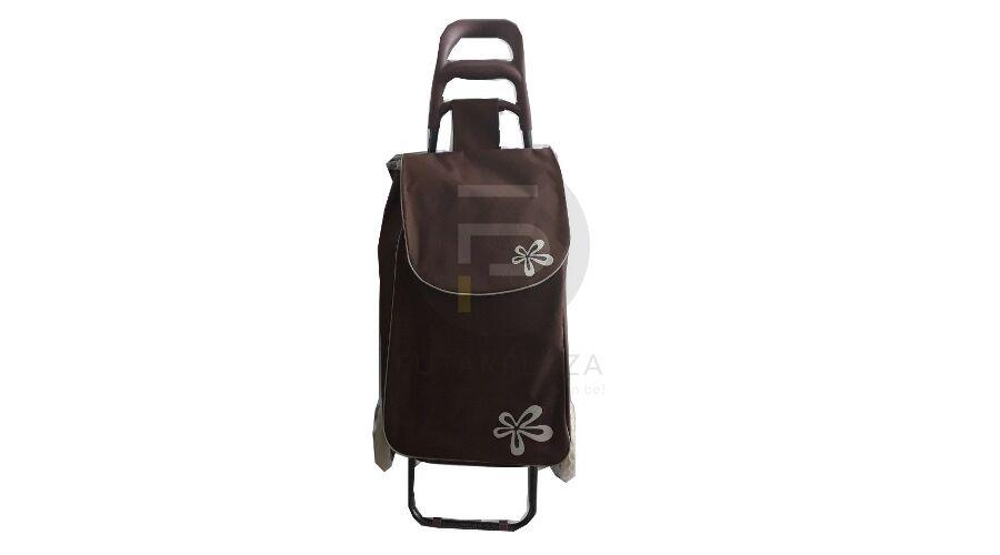 00ce79c94652 Kerekes bevásárló táska barna KB-28 | Futárpláza.hu